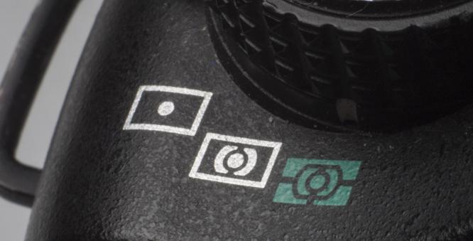Metering Modes dial