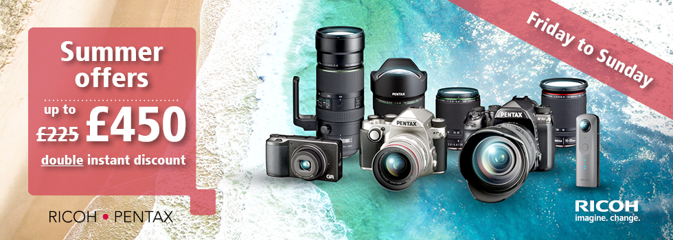 Pentax Cashback offer