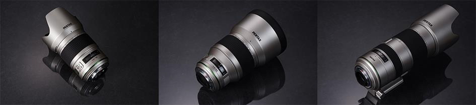 Pentax-D FA 50mm f/1.4, 70-200mm f/2.8 and the 85mm f/1.4