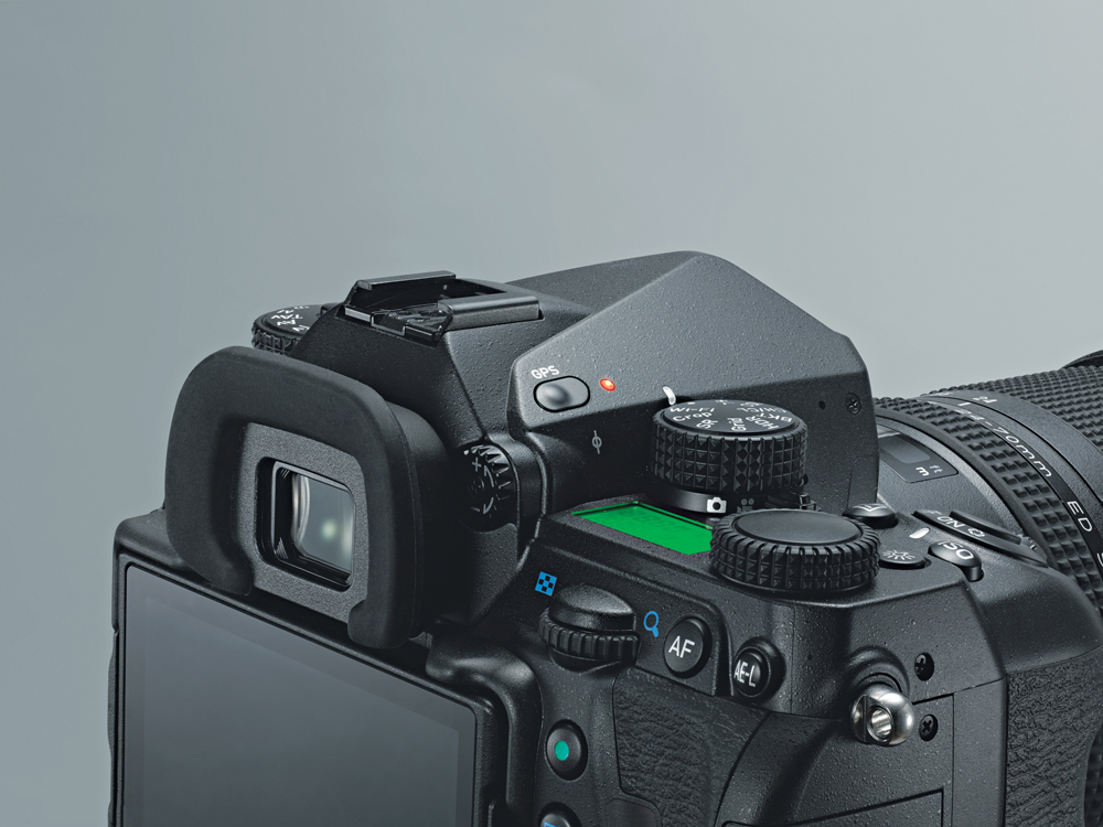 PENTAX K-1 Mark II 35mm full-frame digital SLR camera
