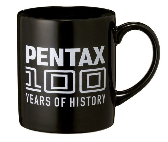 Pentax '100 years' mug