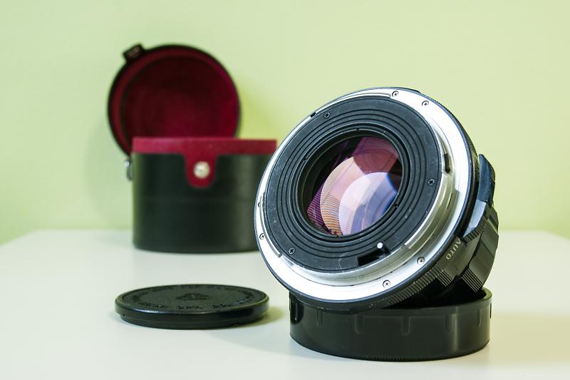 Светосильный takumar 55mm/40 для камер pentax 67