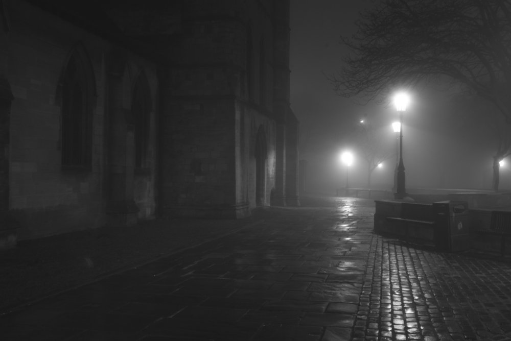 An attempt a Brassai night shot in Grimsby