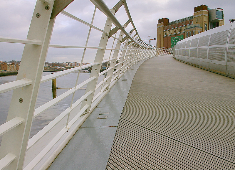 Baltic from the bridge!