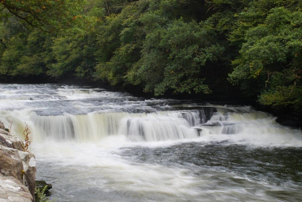 New Lanark Falls