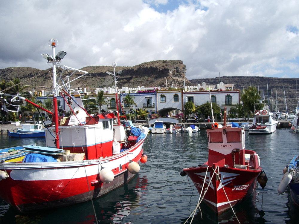 Harbour at Puerto de Morgan