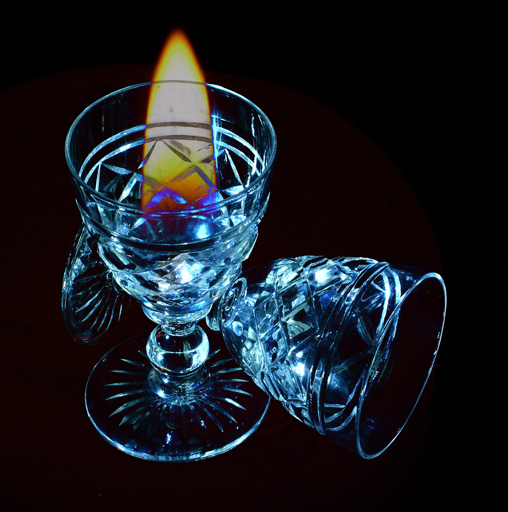 Flame in Glass