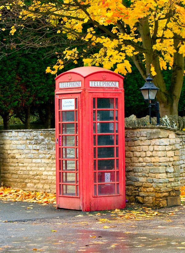 Red Phone Box.