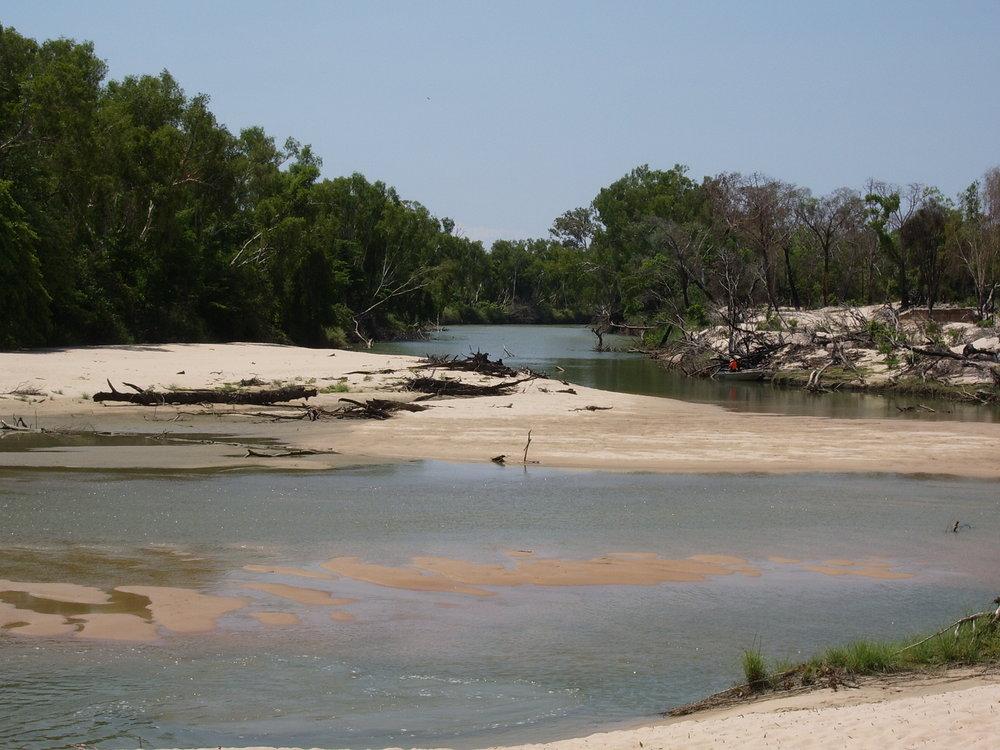 Yellow River sandbars