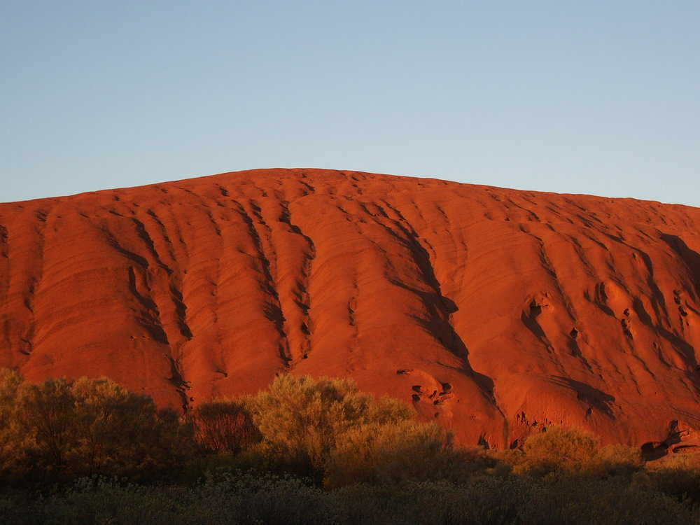 Dawn At Uluru