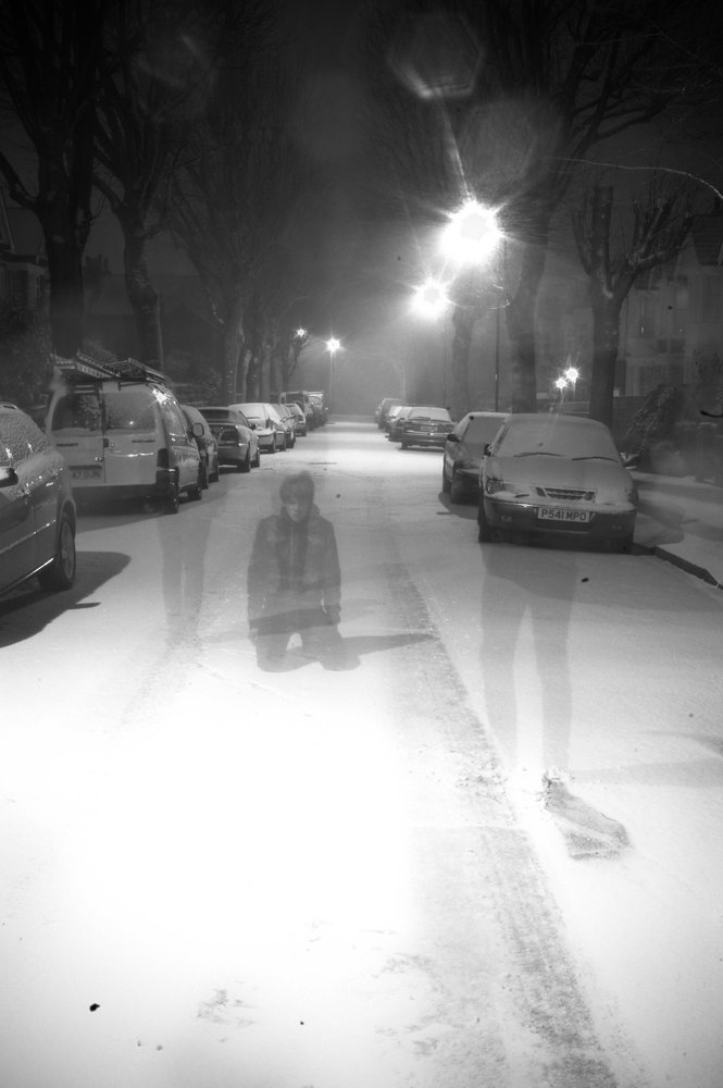 Ghost in the snow.