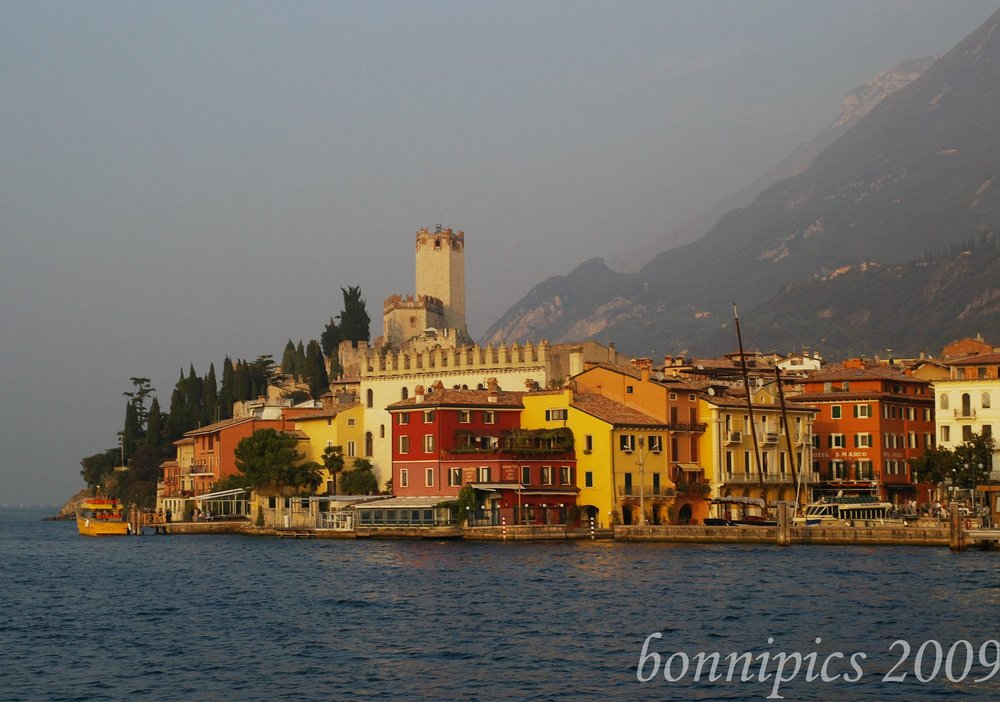 Malcesine Lake Garda Northern Italy