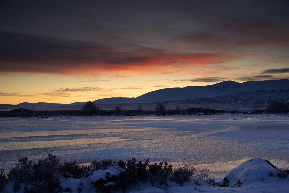 Pre-Dawn on Loch Ba' (Rannoch Moor)