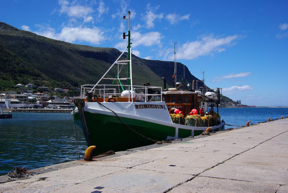 Kalk Bay Fishing Trawler