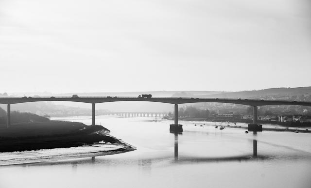 Two bridges, Bideford.