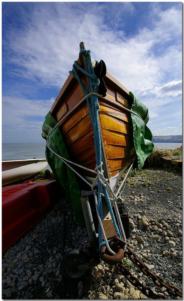 Boat at Robin Hood's Bay