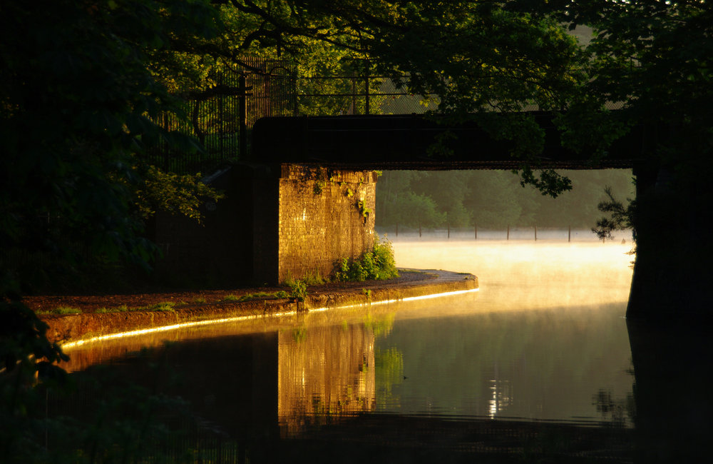 Dawn at Mychette Lake