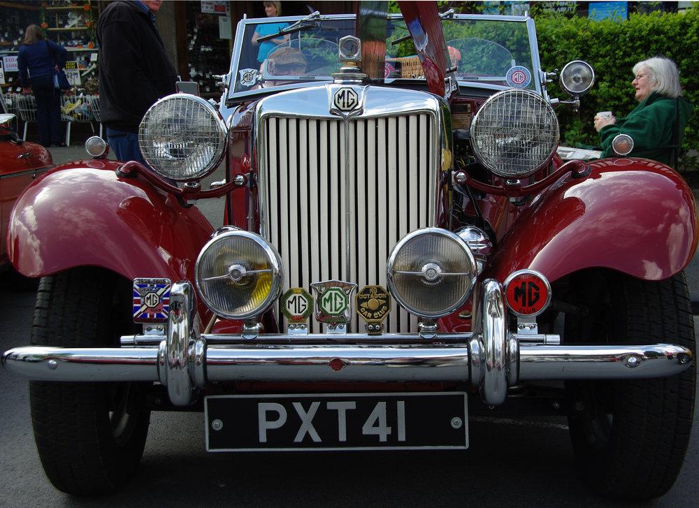 Mg motor car