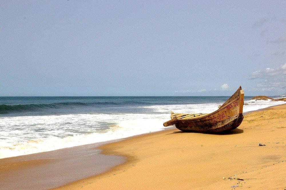 Pirogue - South Coast of Ghana