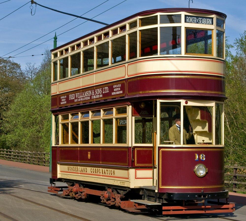 Olde tram