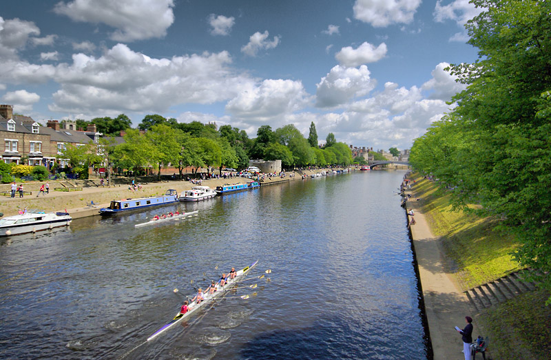 River Ouze at York