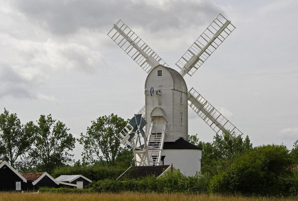 Saxtead Mill