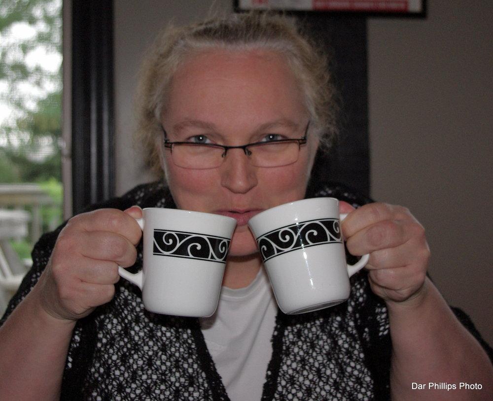 Newfie tea time