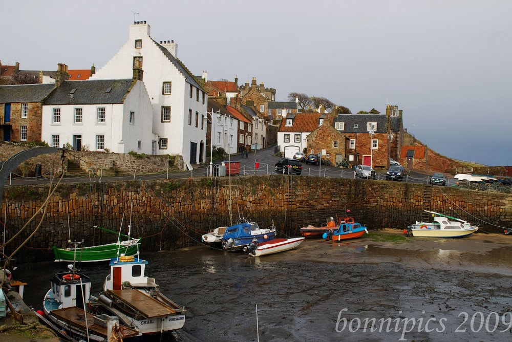 Crail Harbour Fife Coast