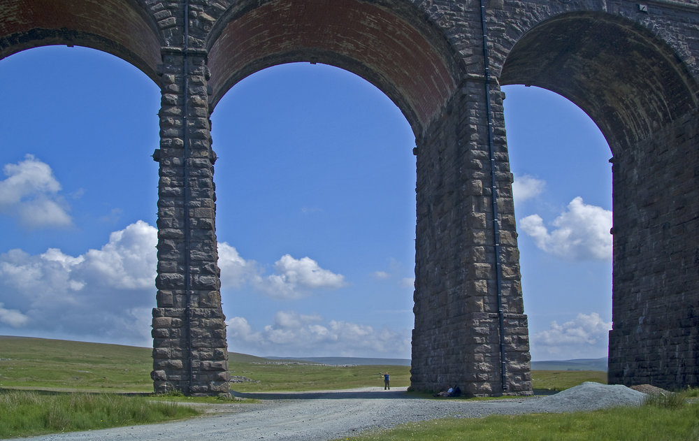 Ribblehead Viaduct again, and my daughter