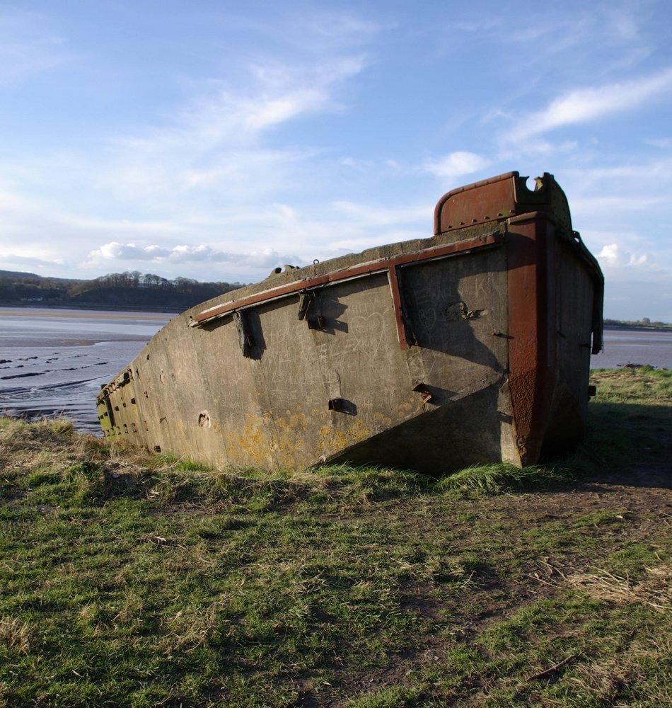 Sunken Barge 2