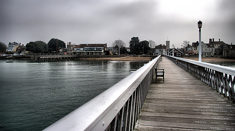 Yarmouth Pier in Winter