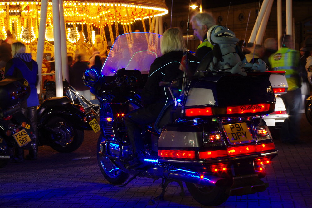 glowing Goldwing in Southport
