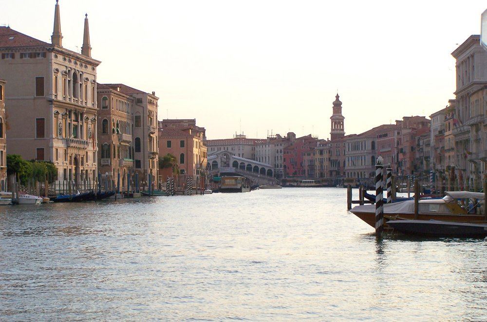 Grand Canal Venice - Early morning