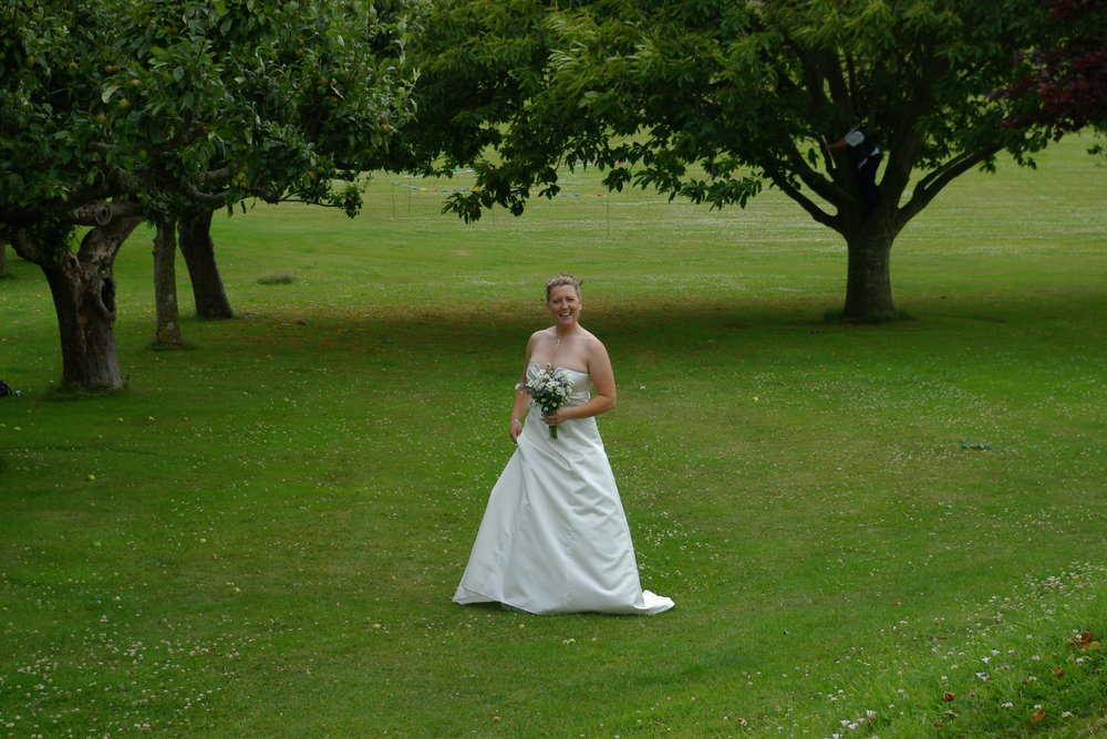 My daugther the bride !