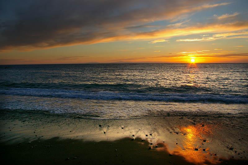 Sunset at Ngawi