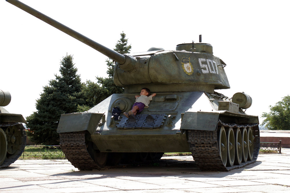 And let the tanks are just toys!