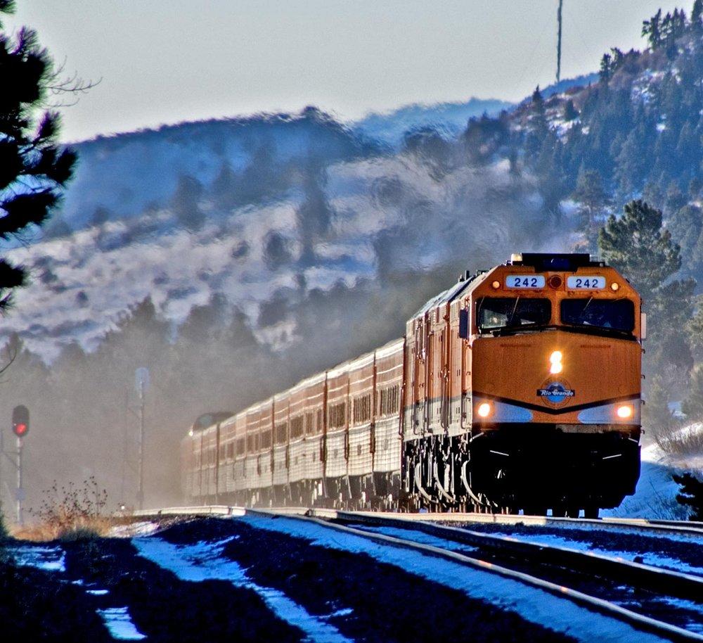 Ski Train & Ground Blizzards