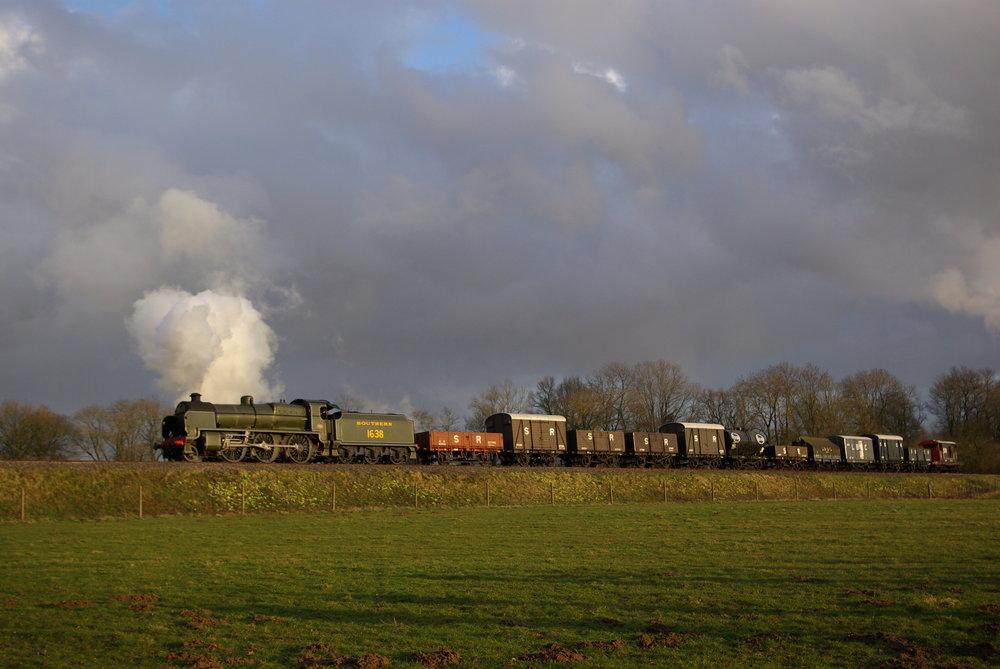 Southern Railway Goods Train recreation