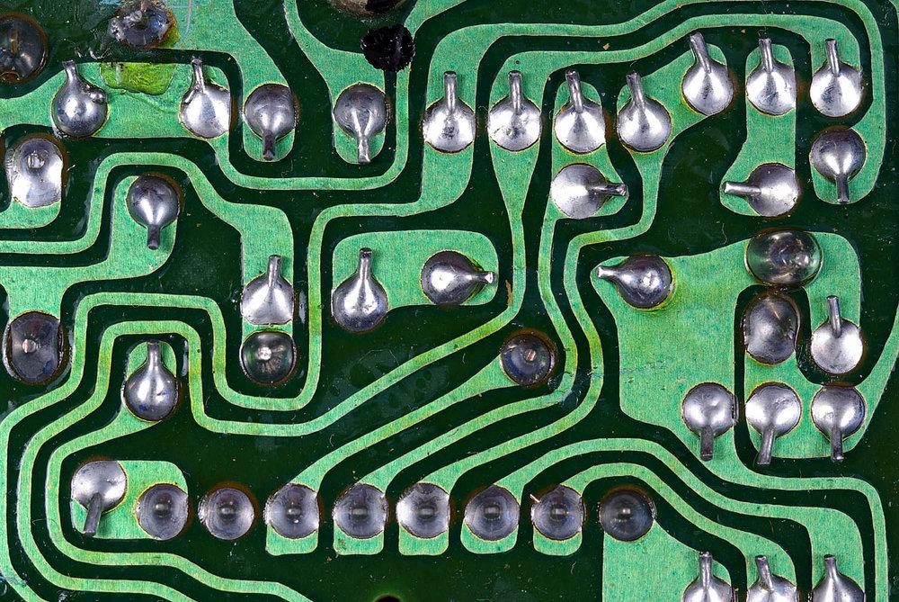 Macro - Circuit board.
