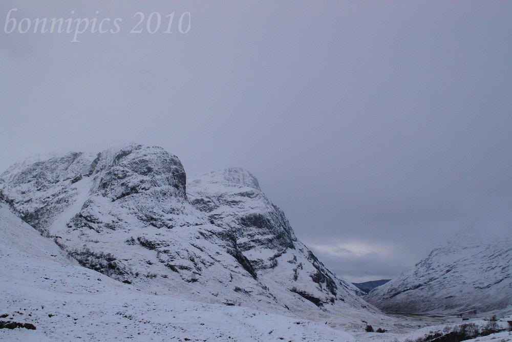 A Wintery Glen Coe