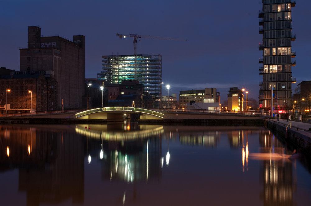 Grand Canal Basin , Dublin
