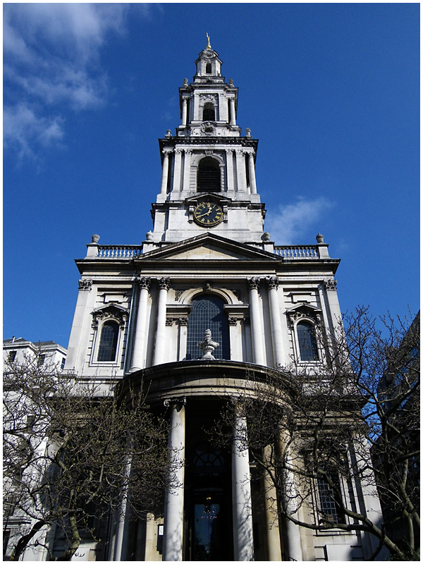 The Parish Church of St Mary-le-Strand