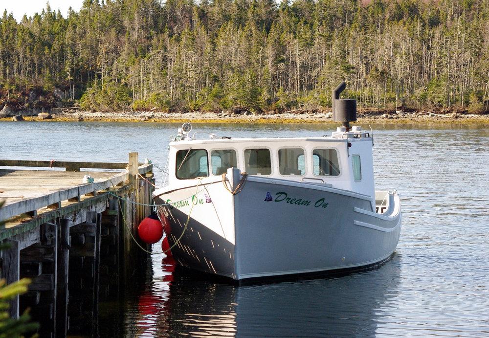 Boat at wharf