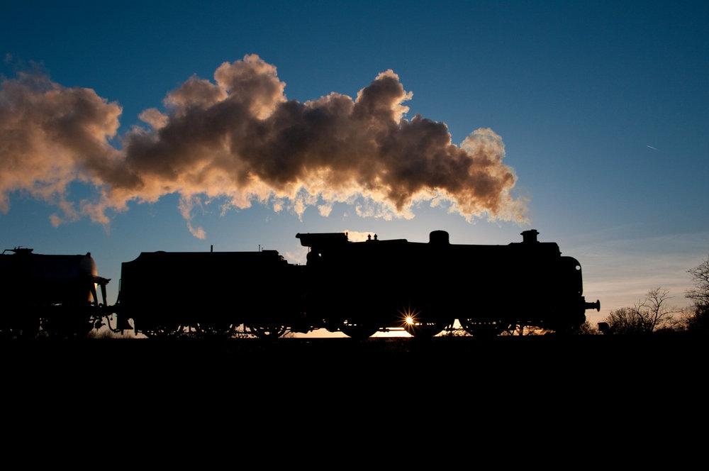 Steam Silloutte