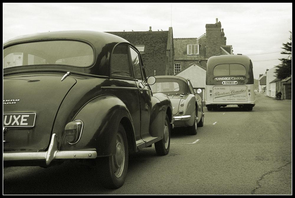 1950s Street Scene