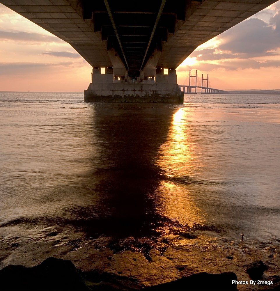 2nd Severn Bridge @Sunset