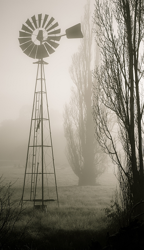 The Mill in the Mist
