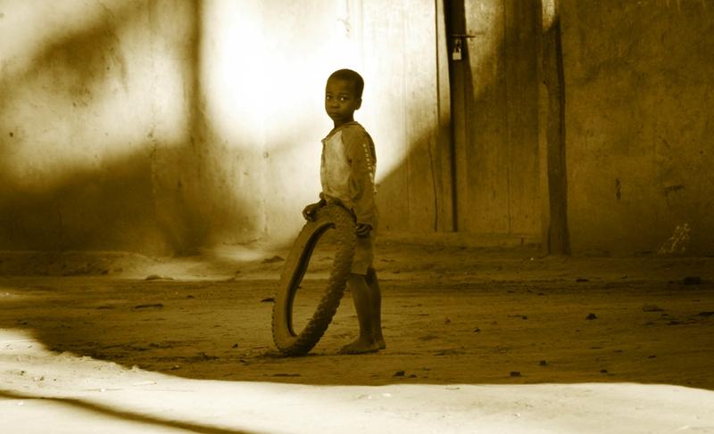 Dear Santa, New tyre please.