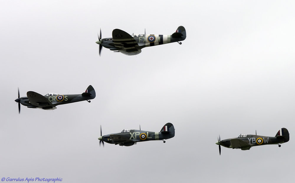 Aircraft of the Battle of Britain Memorial Flight