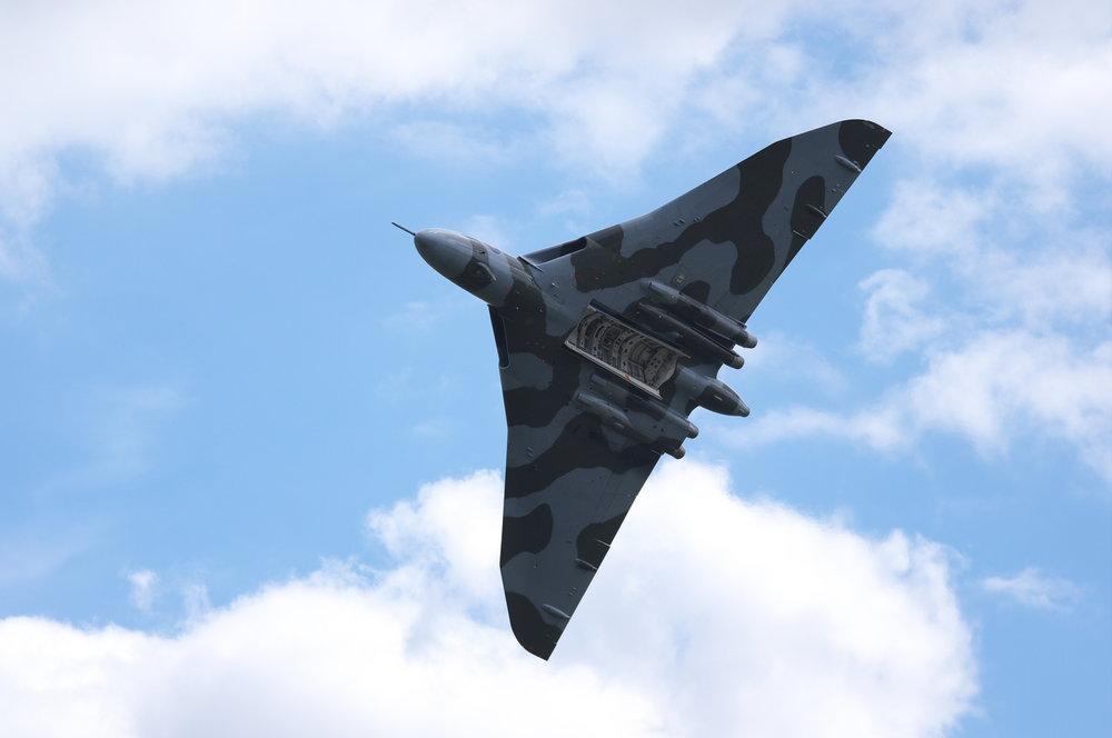 Vulcan Bomber at RAF Waddington 3/7/10 #1